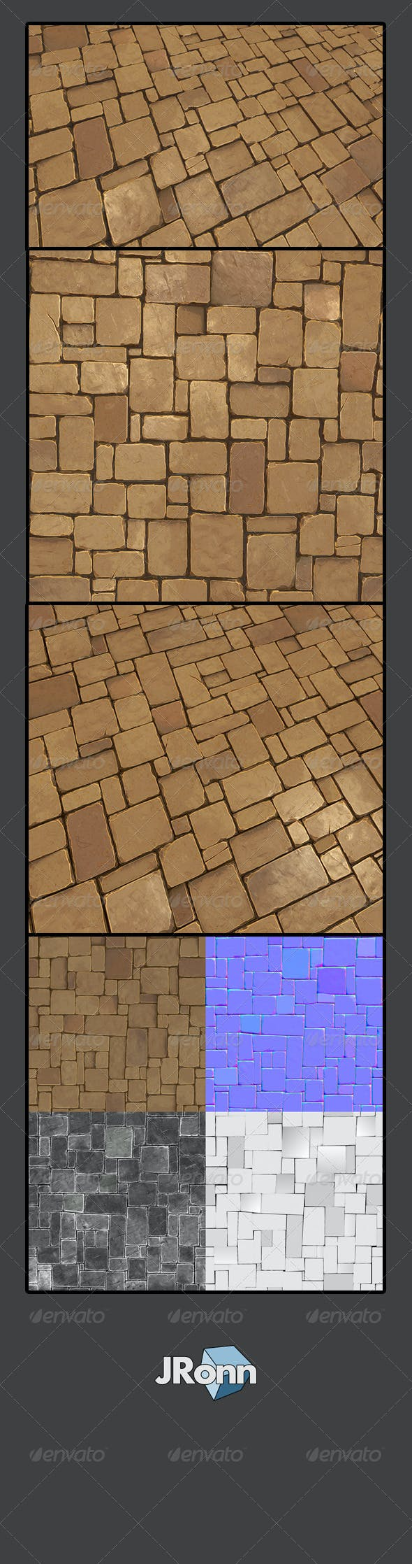 Stone Floor 02 - 3DOcean Item for Sale