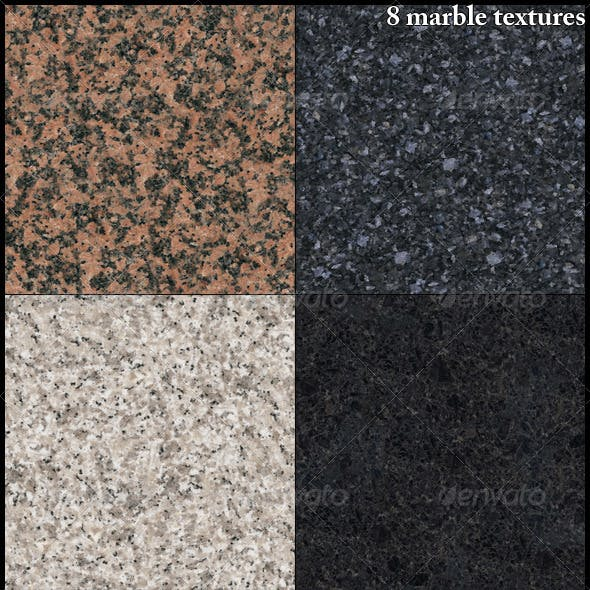 8 marble textures
