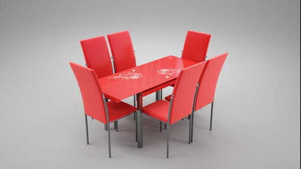 Kitchen Table - 3DOcean Item for Sale