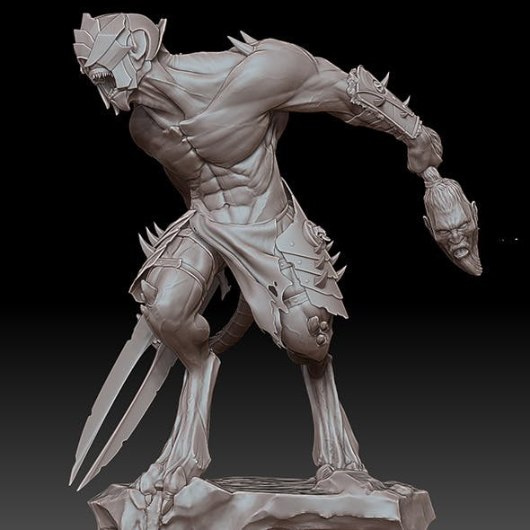 Warrior by Boltay - 3DOcean Item for Sale