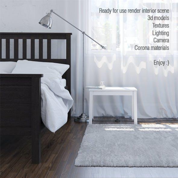 Interior scene. Corona render A6