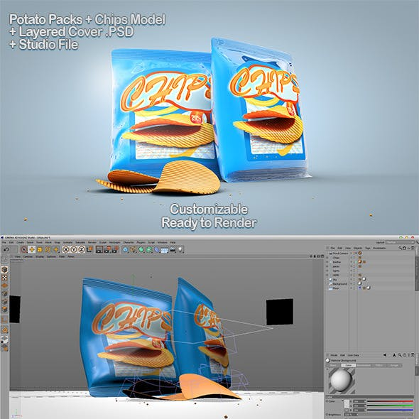 Chips Packs + PSD