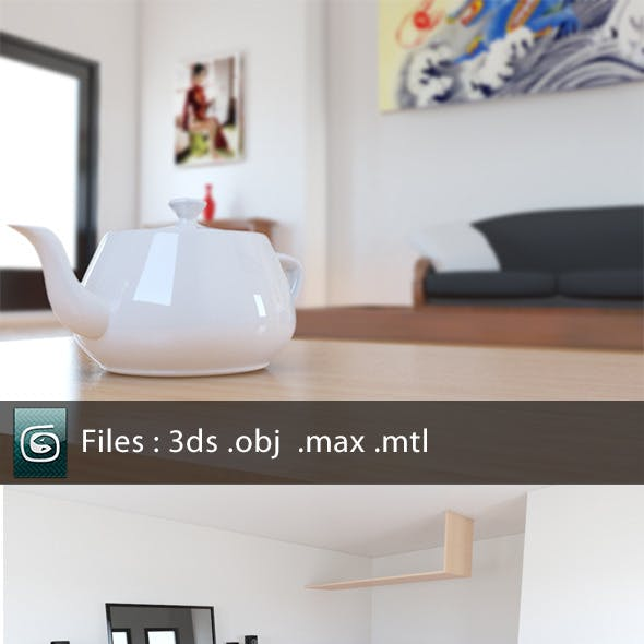 3Ds Max 3D Render Setups from 3DOcean