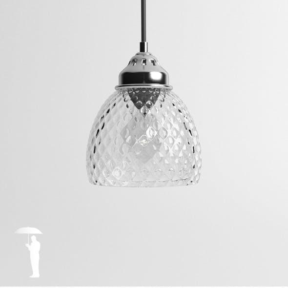 Hubsch Round Glass lamp