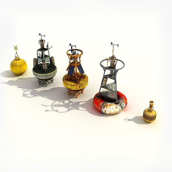 Ocean Buoys Pack - 3DOcean Item for Sale