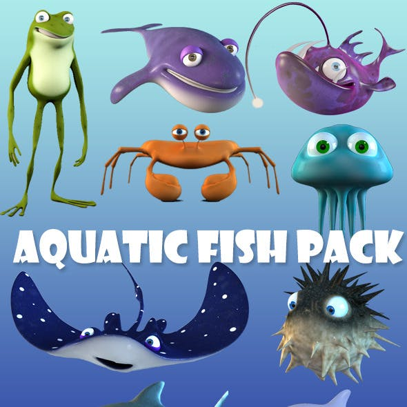 Cartoon Fish Bundle