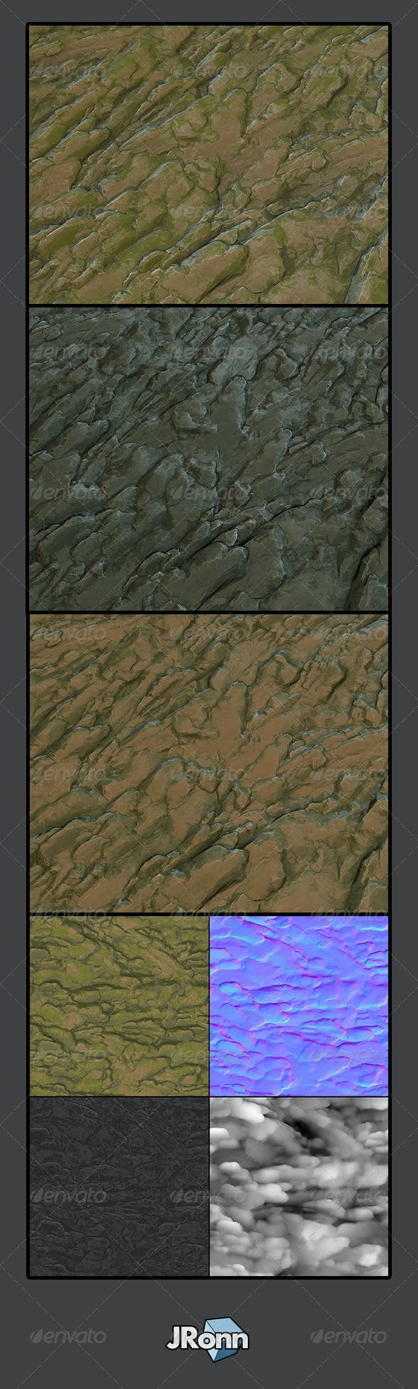 Rock Ground/Wall 01 - 3DOcean Item for Sale