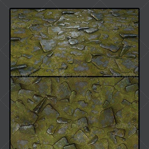 Grassy Stone Road Tile 02
