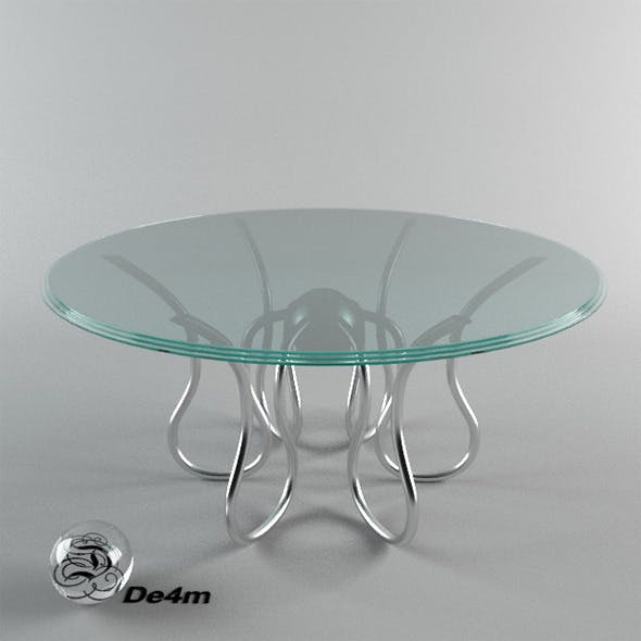 Octopus Table - 3DOcean Item for Sale