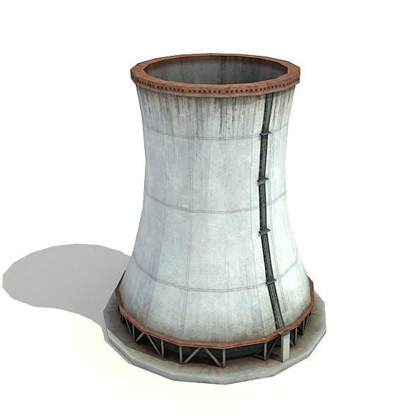 Big Wide Chimney - 3DOcean Item for Sale