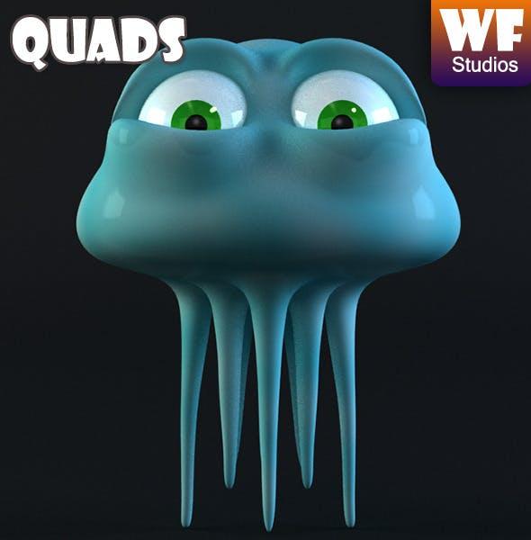 Cartoon Jellyfish - 3DOcean Item for Sale