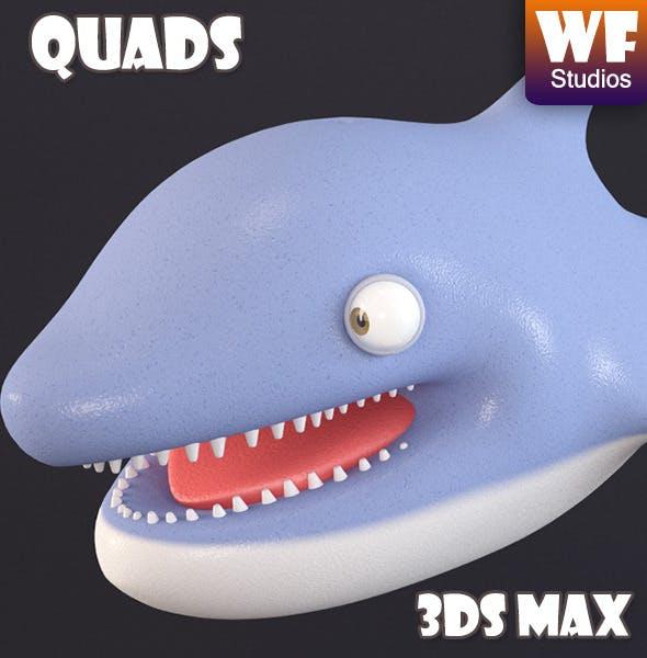 Cartoon Dolphin - 3DOcean Item for Sale