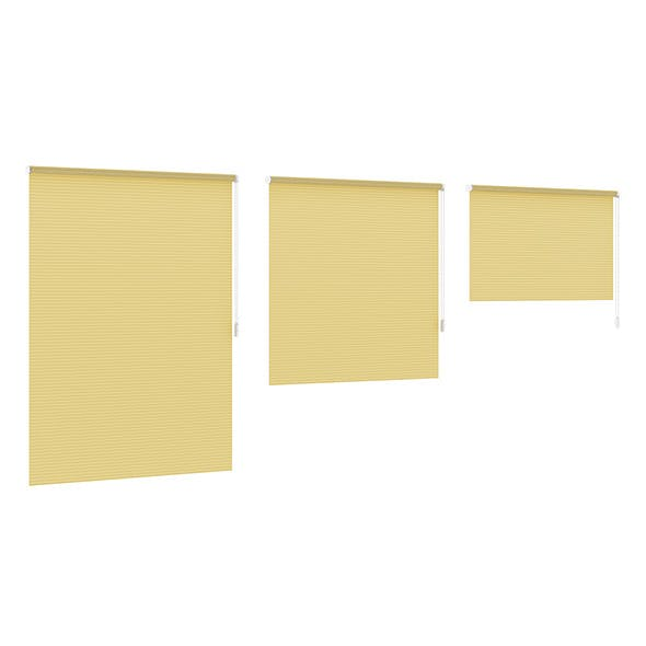 Striped Yellow Blinds - 3DOcean Item for Sale