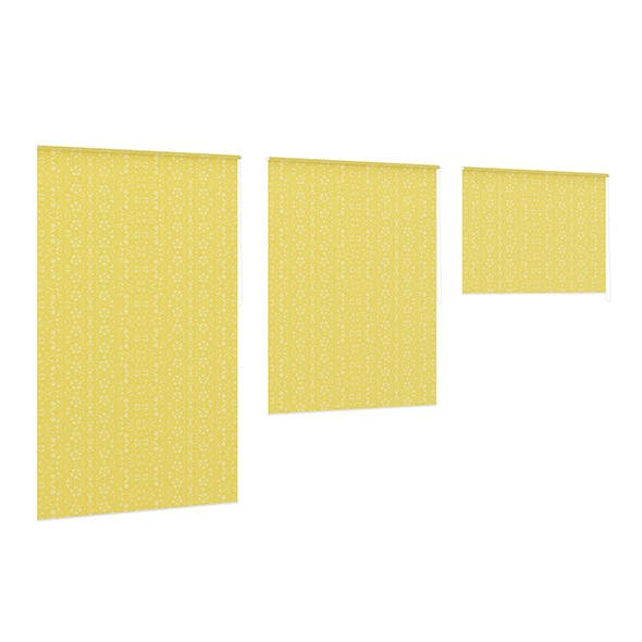 Yellow Window Blinds