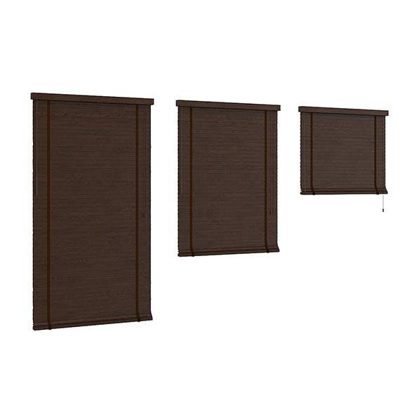 Dark Wood Shutters - 3DOcean Item for Sale
