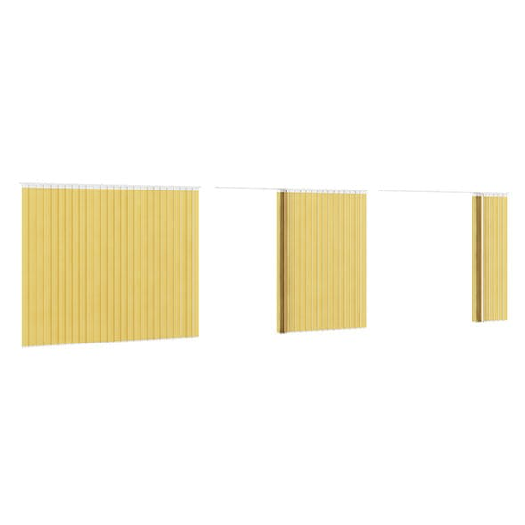 Vertical Yellow Blinds
