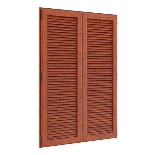 Wooden External Shutters