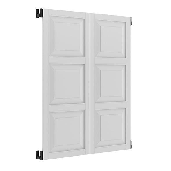 White External Shutters - 3DOcean Item for Sale