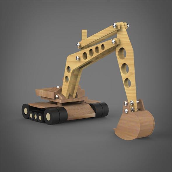 Toy JCB Machine