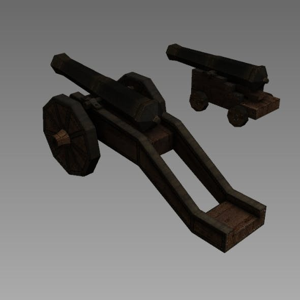16th Cannons - 3DOcean Item for Sale