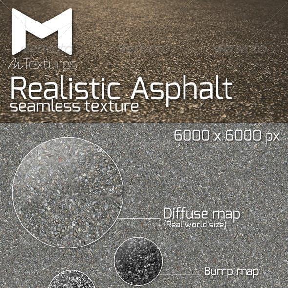 Realistic Asphalt seamless texture