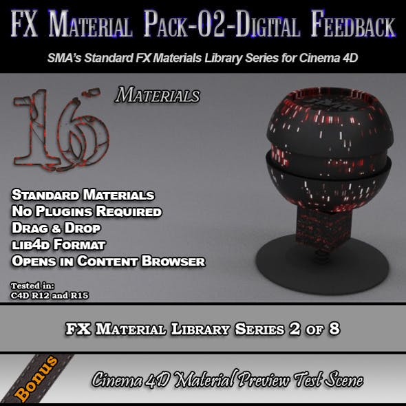 Standard FX Material Pack-02-DF for Cinema 4D