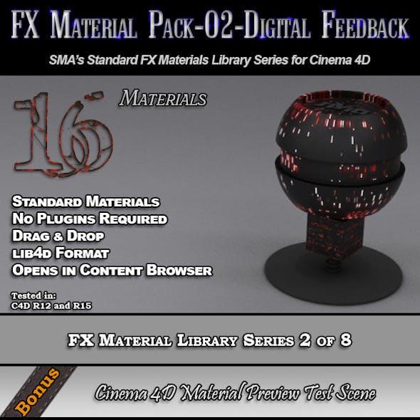 Standard FX Material Pack-02-DF for Cinema 4D