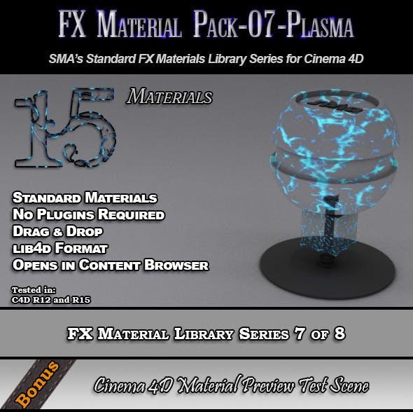 Standard FX Material Pack-07-Plasma for Cinema 4D - 3DOcean Item for Sale