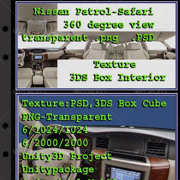 Nissan Patrol - Safari - Interior