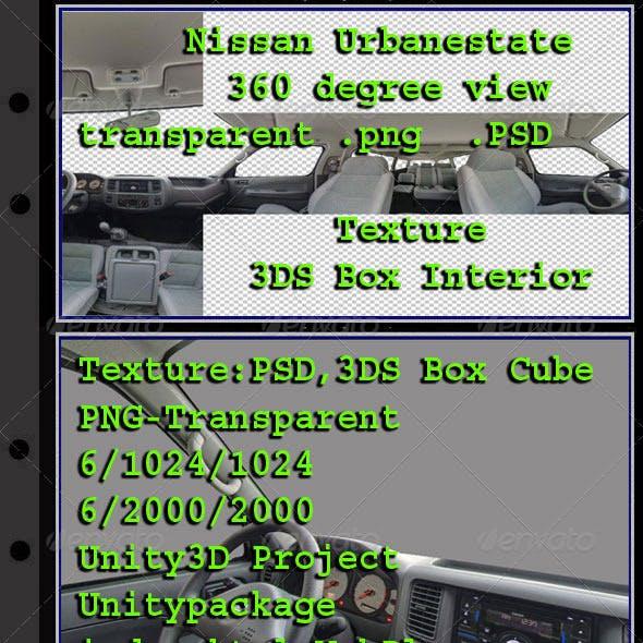 Nissan Urbanestate - Interior