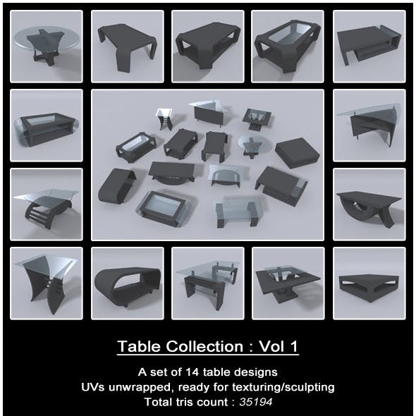 Table Collection : Vol 1