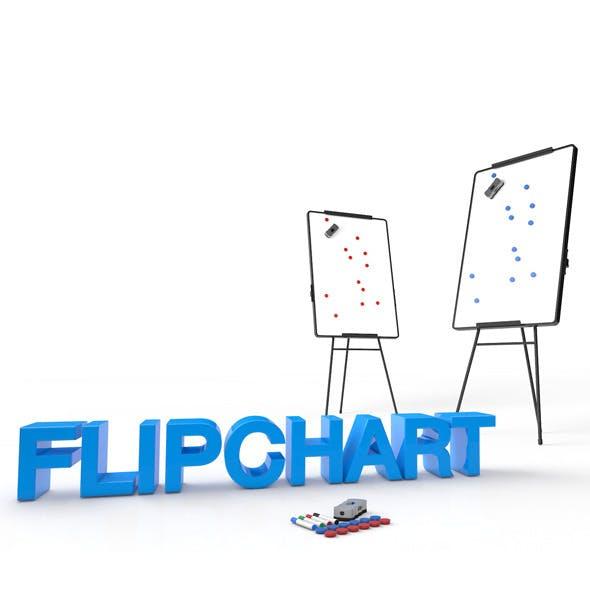 Flipchart - 3DOcean Item for Sale
