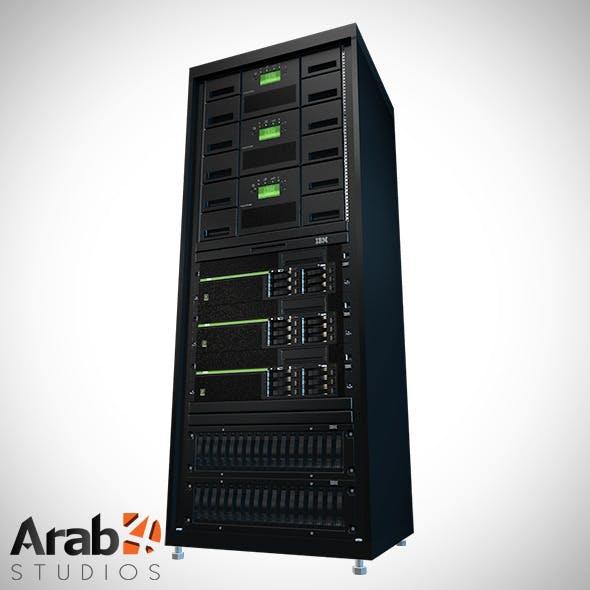 Server Rack IBM 1 - 3DOcean Item for Sale