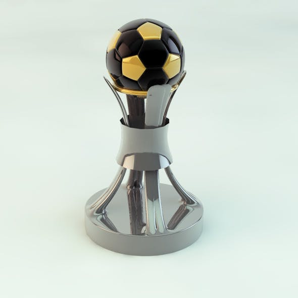 Original Soccer Cup Trophies 3D Model