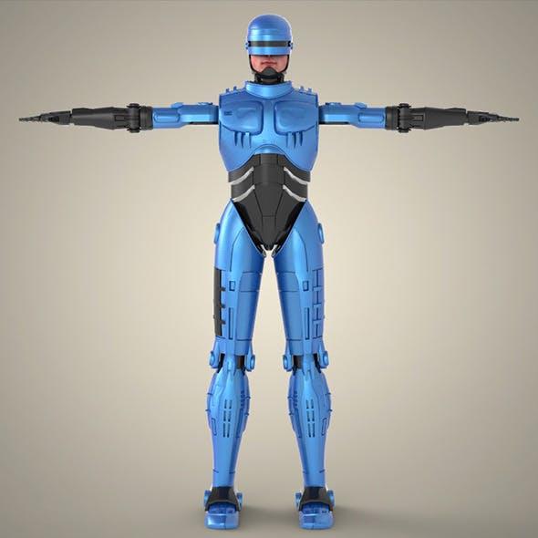 Superhero Robocop - 3DOcean Item for Sale