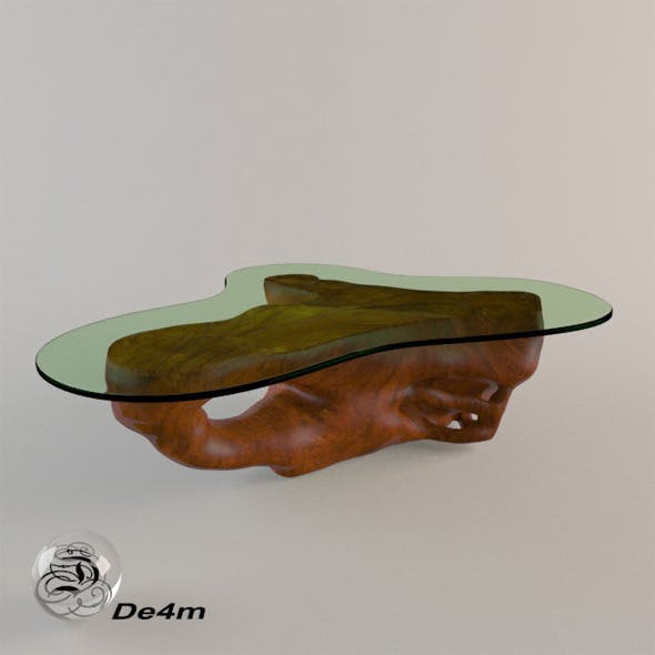 Root Coffee Table - 3DOcean Item for Sale