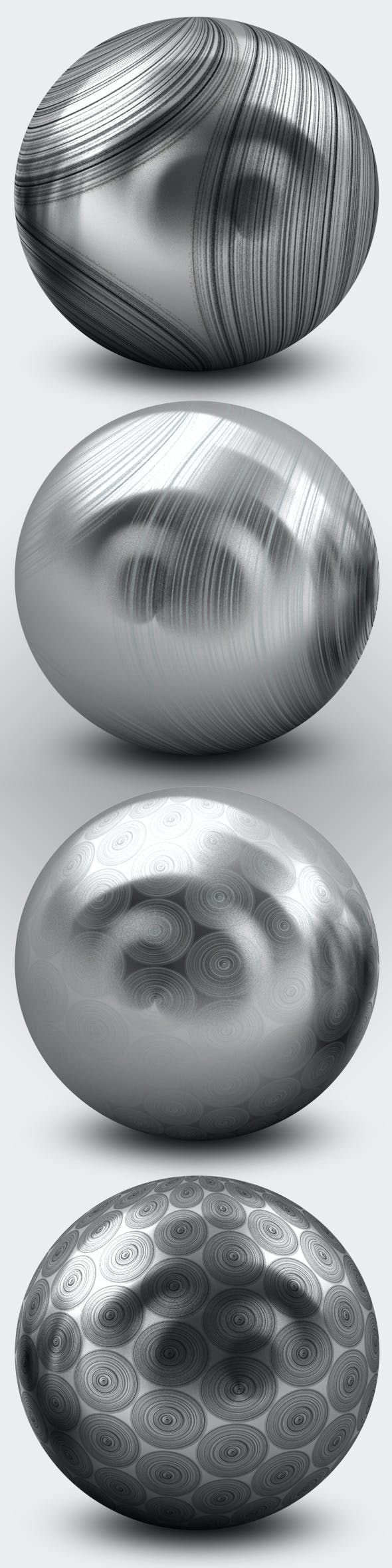 V-Ray Brushed Steel - 3DOcean Item for Sale