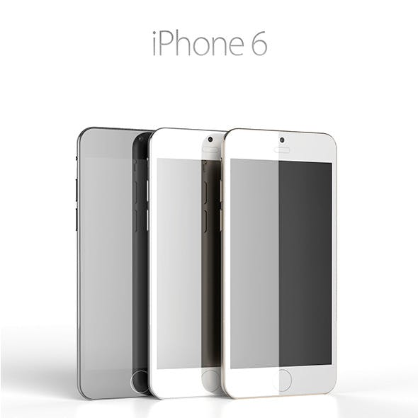 iPhone 6 Concept - 3DOcean Item for Sale
