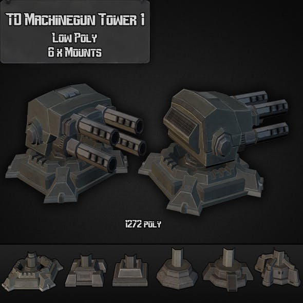 TD Machinegun Tower 01