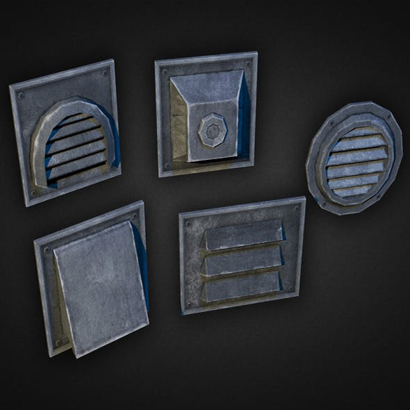 Wall Vents Pack 01