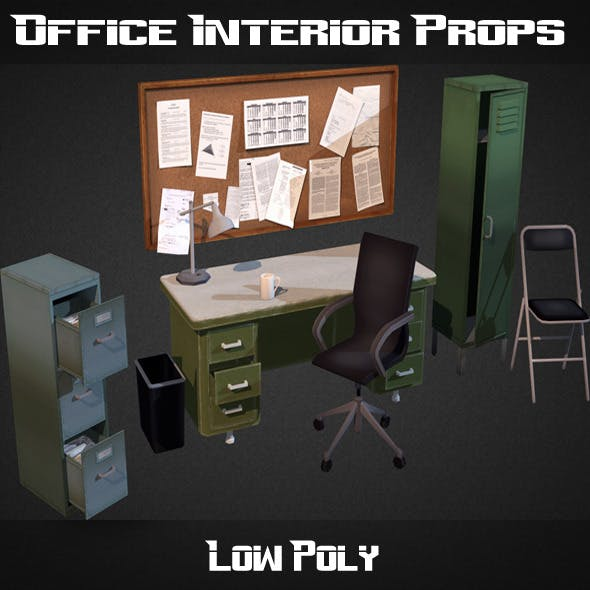 Office Interior Props