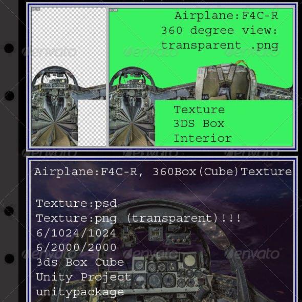 Airplane F4C-R interior