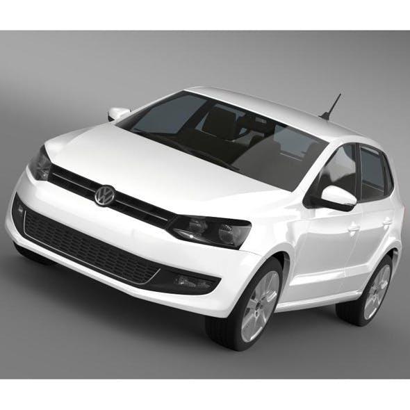 Volkswagen Polo BiFuel 5d 2010-2013 - 3DOcean Item for Sale