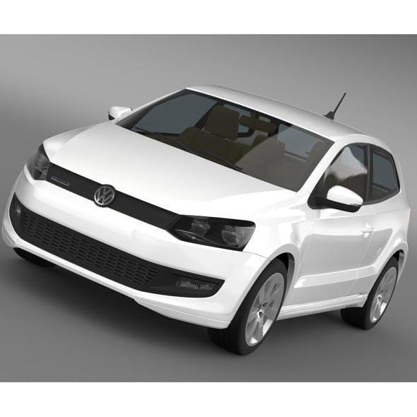 Volkswagen Polo BlueMotion 3d 2010-2013