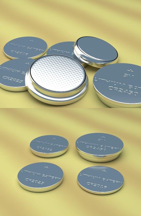 Lithium Cells - 3DOcean Item for Sale