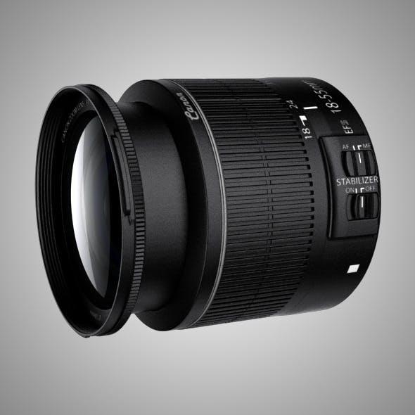 Canon EFS 15-88 IS II Lens - 3DOcean Item for Sale