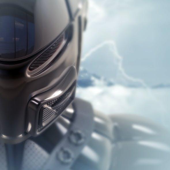 Robot ninja (bust)