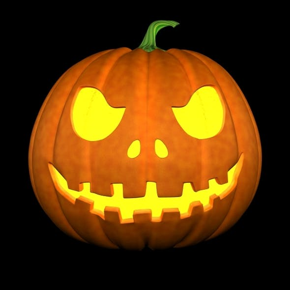 halloween pumpkin - 3DOcean Item for Sale
