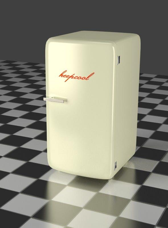 Refrigerator oldwhite - 3DOcean Item for Sale