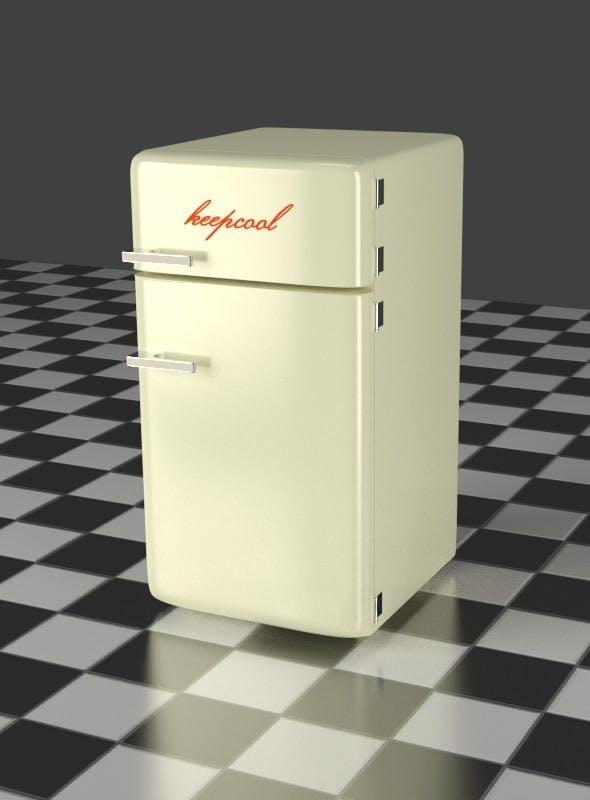 Fridge Freezer Combi - 3DOcean Item for Sale